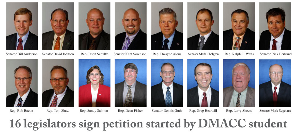 Students, legislators oppose DMACC's use of state funds