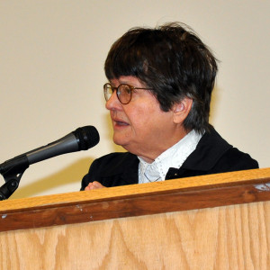 Sister Helen Prejean spoke at the FFA Building on the Ankeny Campus Thursday, Nov. 6. Photo courtesy Dan Ivis.