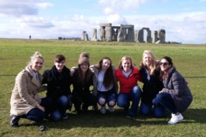 2016 Study Abroad students at Stonehenge Photo Courtesy of Jennafer Uitermarkt