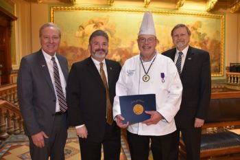 A Farewell to Retiring Chef Anderson