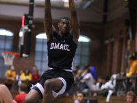 Devonta Prince slams home 2 of his 8 points vs Black Hawk-Moline on Saturday