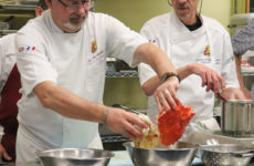 Bonjour! French chefs give culinary demonstrations
