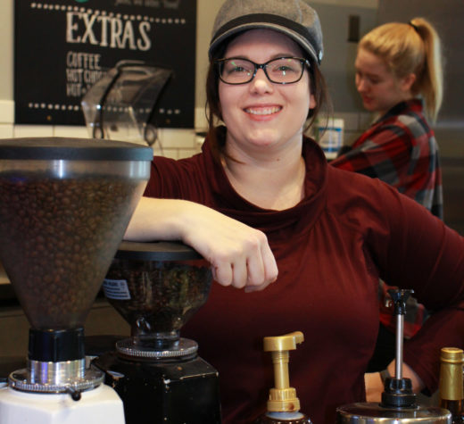 Meet Sara: The one who keeps campus caffeinated