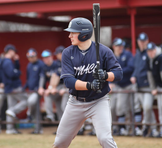 Photos from DMACC's first game of the season. Left fielder, Grant Bohling , from Lincoln, Neb.  The Bears loss 7-3 and went 1-3 in the series. Photo courtesy Michelle Ymker and DMACC baseball.